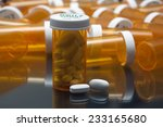 drugs in prescription bottle   Shutterstock . vector #233165680
