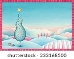 watercolor illustration of a...   Shutterstock . vector #233168500