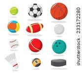 balls vector pack | Shutterstock .eps vector #233172280