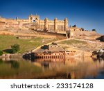 Amber Fort Illuminated By Warm...