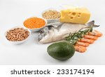 food high in protein isolated... | Shutterstock . vector #233174194