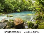 The Cerulean Blue Waters Of The ...