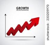 growth design   vector... | Shutterstock .eps vector #233205970