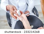 tablets box for good health.... | Shutterstock . vector #233214268