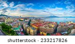 Panorama Of Naples  View Of The ...