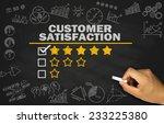 customer satisfaction concept... | Shutterstock . vector #233225380
