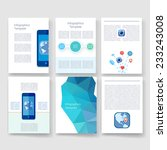 flyer  brochure design... | Shutterstock .eps vector #233243008