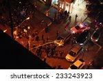 new york city   november 25... | Shutterstock . vector #233243923