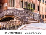 Footbridge Over A Canal In...