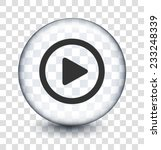 play on transparent round button | Shutterstock .eps vector #233248339