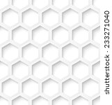 white paper hexagon abstract... | Shutterstock .eps vector #233271040