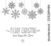 Merry Christmas Card With...