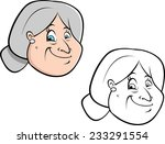 cartoon vector coloring book... | Shutterstock .eps vector #233291554