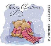 Greeting Christmas Card Two...