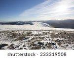 Snow Covered Mountain Plateau...