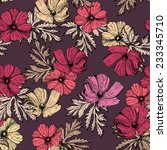 vector seamless pattern with... | Shutterstock .eps vector #233345710