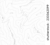 topographic map texture of an... | Shutterstock .eps vector #233362099
