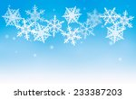 this is an illustration of snow ...   Shutterstock .eps vector #233387203