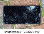 Broken Mobile Phone  Crashed...