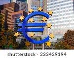 frankfurt   october 14  euro... | Shutterstock . vector #233429194