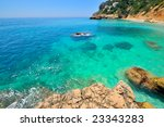 gorgeous mediterranean beach in ... | Shutterstock . vector #23343283