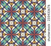 retro trendy seamless pattern... | Shutterstock .eps vector #233433676