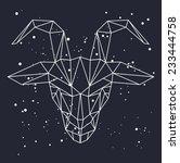 vector hipster abstract...   Shutterstock .eps vector #233444758