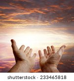 hands reaching for the sky | Shutterstock . vector #233465818