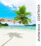 tropical beach baie lazare ... | Shutterstock . vector #233478424