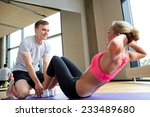 fitness  sport  training  gym... | Shutterstock . vector #233489680
