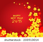 chinese new year   greeting...   Shutterstock .eps vector #233513014