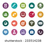 business and communication... | Shutterstock .eps vector #233514238