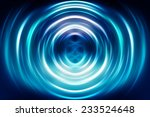 Abstract Geometrical Blue...