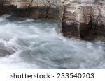 Short River And Rapids Up Nort...