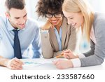 business people working together | Shutterstock . vector #233587660