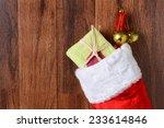 Closeup Of A Christmas Stockin...