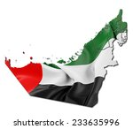 united arab emirates state flag ... | Shutterstock . vector #233635996