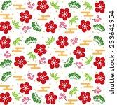 japanese background | Shutterstock .eps vector #233641954