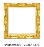 gold wood sculpture picture... | Shutterstock . vector #233647378