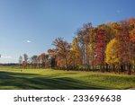 Autumn Golf Scene 1