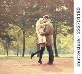 beautiful couple in love in... | Shutterstock . vector #233701180