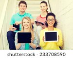 education and technology... | Shutterstock . vector #233708590