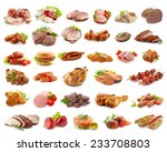 Various Kinds Of Meat Products...