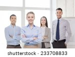 business and office concept  ... | Shutterstock . vector #233708833