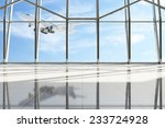 airport terminal waiting area.... | Shutterstock . vector #233724928