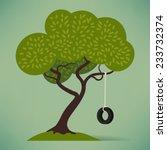 vector flat design illustration ... | Shutterstock .eps vector #233732374
