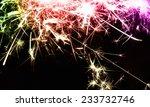 sparks border  | Shutterstock . vector #233732746