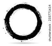 vector grunge circle border... | Shutterstock .eps vector #233771614