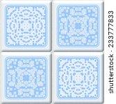 seamless mosaic tile texture in ...   Shutterstock . vector #233777833