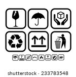 transportation  delivery icon... | Shutterstock .eps vector #233783548